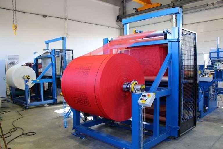 Stroje a zařízení pro úpravu materiálů, jednoúčelové navíjecí stroje